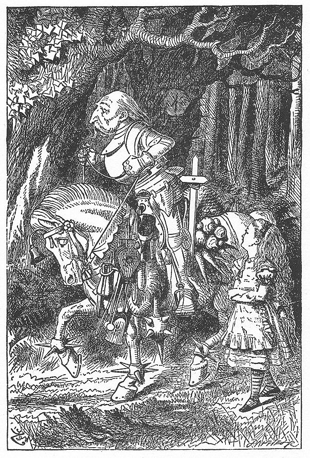 イラスト: アリスと白騎士