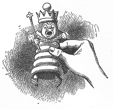 イラスト: 王さまはあんぐり
