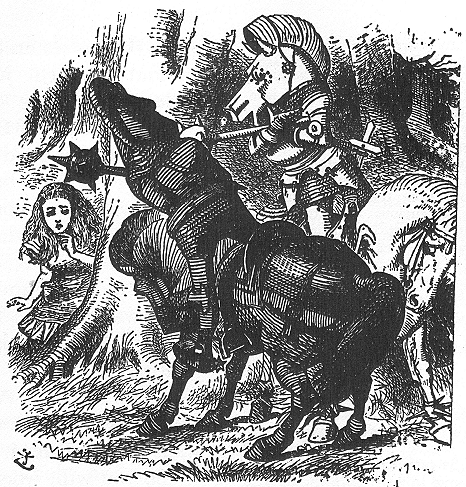 イラスト: 騎士たちの決闘