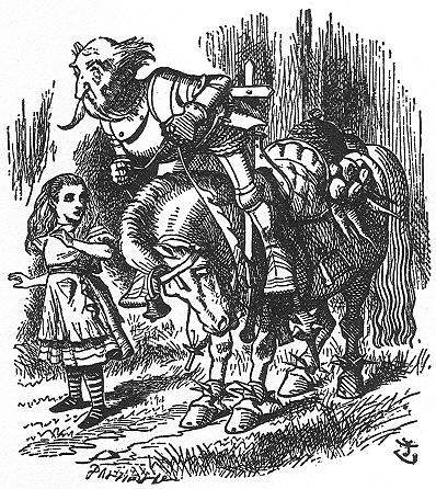 イラスト: 騎士は前に転げ落ちます