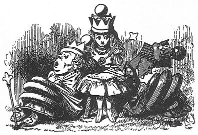 イラスト: 紅白女王はお昼寝
